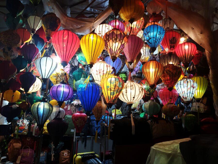 Lantern Market in Hoi An, Vietnam