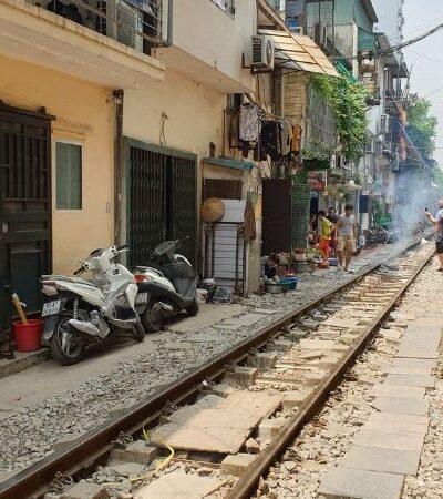 Iconic Train Street, Hanoi