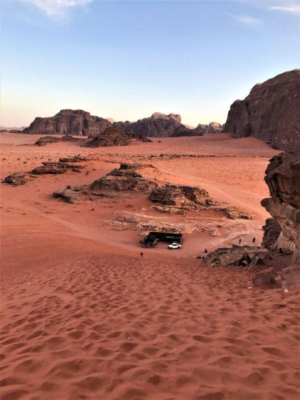 Sand Dune Wadi Rum Desert