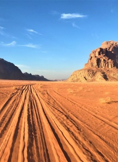 A Day In Wadi Rum Desert