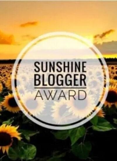 Sunshine Bloggers Award