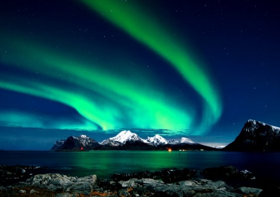 Quest for the northern lights in Finland