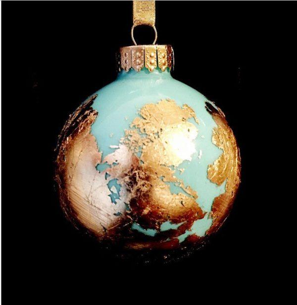 Travel Christmas ornament