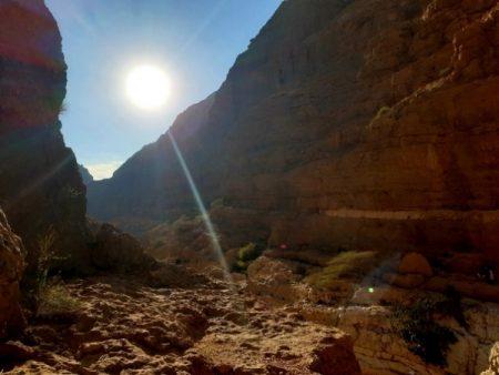 Wadi Shab sunset