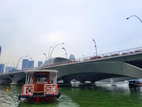 Bumboat, Singapore River