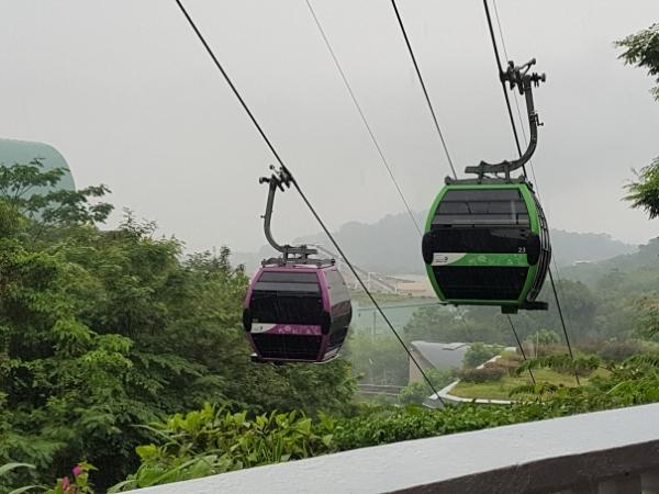 Sentosa Island Singapore Cable Cars