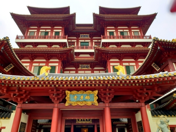Tooth Relic Temple, Singapore