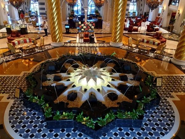 Zabeel Saray Hotel Dubai Lobby