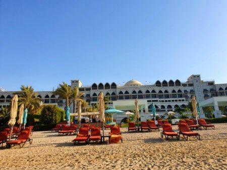 Zabeel Saray Hotel Dubai Private Beach (1)