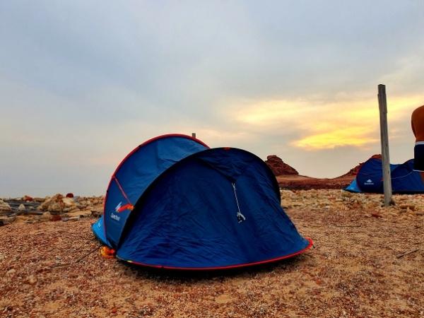 Camping on Socotra Island