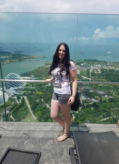 Stay at the Marina Bay Sands Hotel Singapore