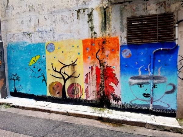 Street Art, Hong Kong Bucket List