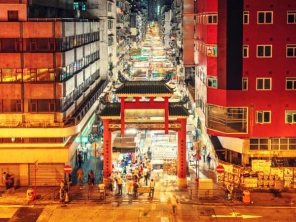 Temple Street Night Marke, Hong Kong bucket listt