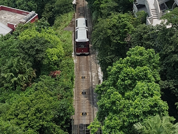Tram to Victoria Peak, Hong Kong Bucket List