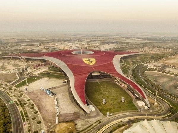 7-day Dubai itinerary Ferrari World