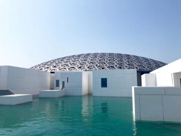7-day Dubai itinerary Louvre Abu Dhabi