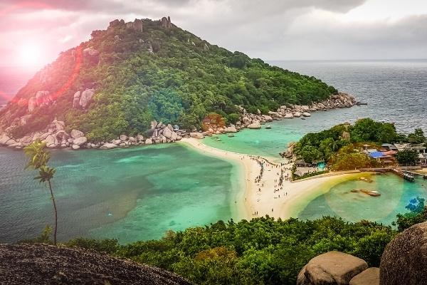Koh Nang Yuan Thailand Island Hopping