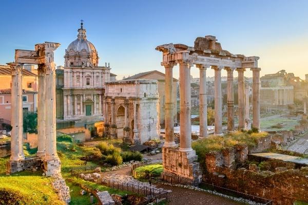 Rome's ruins European Bucket List