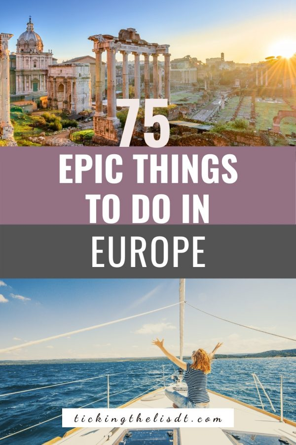 Things to do in Europe
